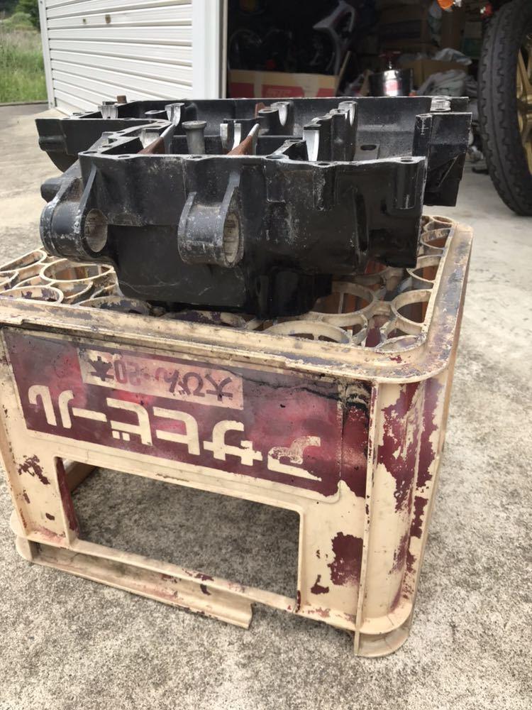 CBX400F 1型2型 550F CBR400F クランク クランクケース 上下 エンジン 当時物_画像3