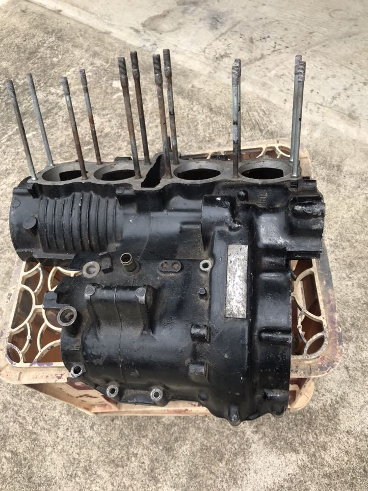 CBX400F 1型2型 550F CBR400F クランク クランクケース 上下 エンジン 当時物_画像8