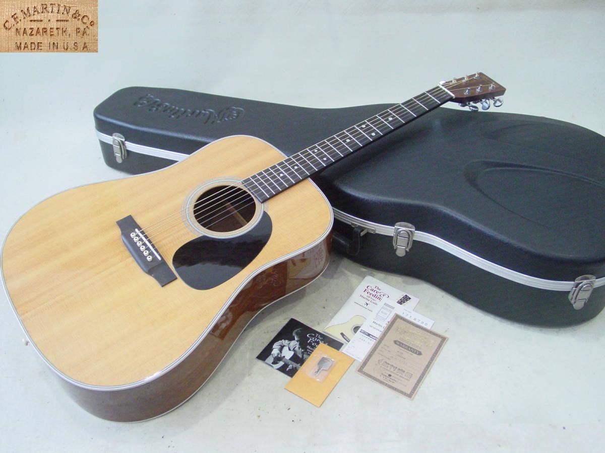 ★Martin マーティン D-28 アコースティックギター 純正ハードケース付 2009年製_画像1