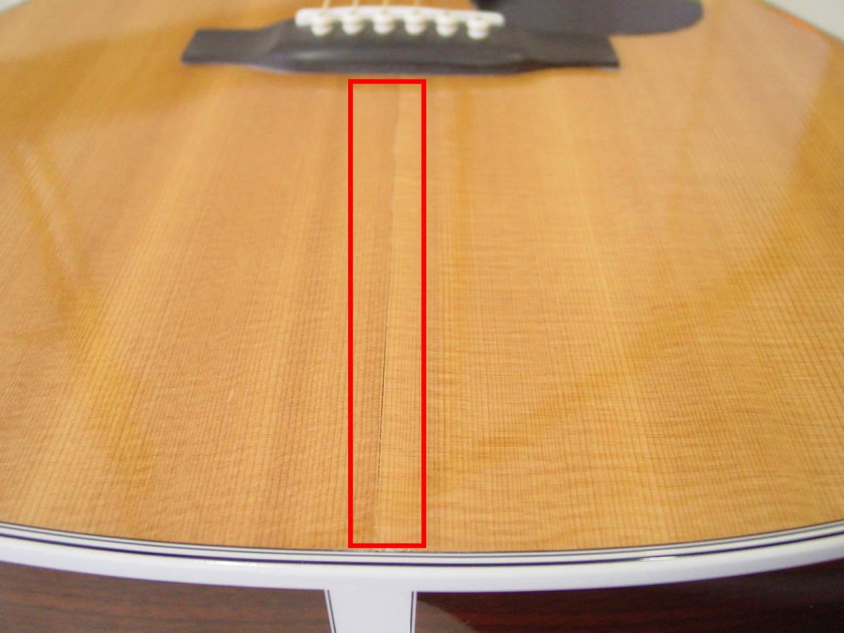 ★Martin マーティン D-28 アコースティックギター 純正ハードケース付 2009年製_画像9