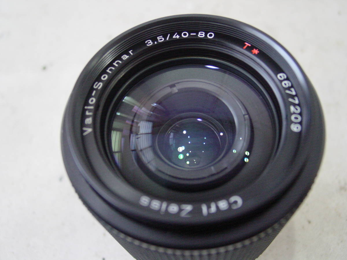 ★CONTAX コンタックス Carl Zeiss Vario-Sonnar 40-80mm F3.5 T* ズームレンズ 西ドイツ製_画像3