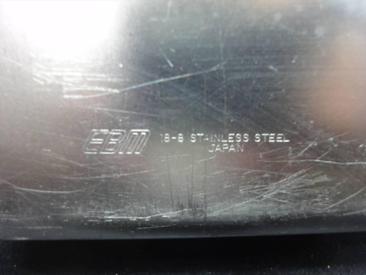 a12-2L3252/【業務用/厨房用】蓋付き長バット/深型組バット 0号 12点★ステンレス製 クローバー EBM※沖縄/離島発送不可_画像5