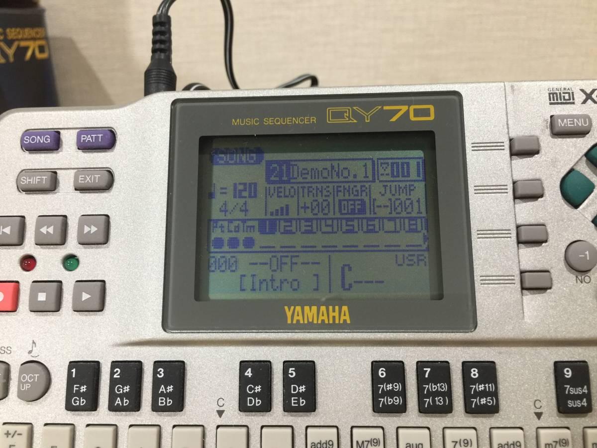 YAMAHA ミュージックシーケンサー QY70 ヤマハ_画像8