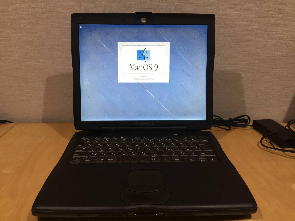 Apple PowerBook G3 M7308J/A 400Ghz/320MB/DVD 【ジャンク扱い】_画像10