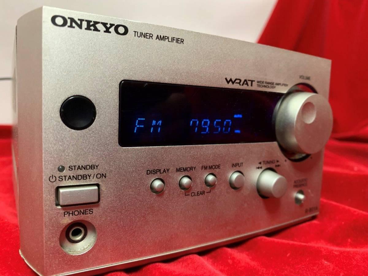 ONKYO チューナーアンプ R-801A    ★SFT8_画像3