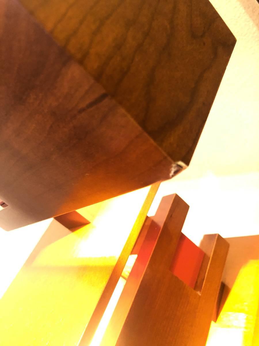 ヤマギワ正規品 Frank Lloyd Wright フランク ロイド ライト TALIESIN 2 タリアセン フロアスタンド [白熱灯][チェリー材]_画像5