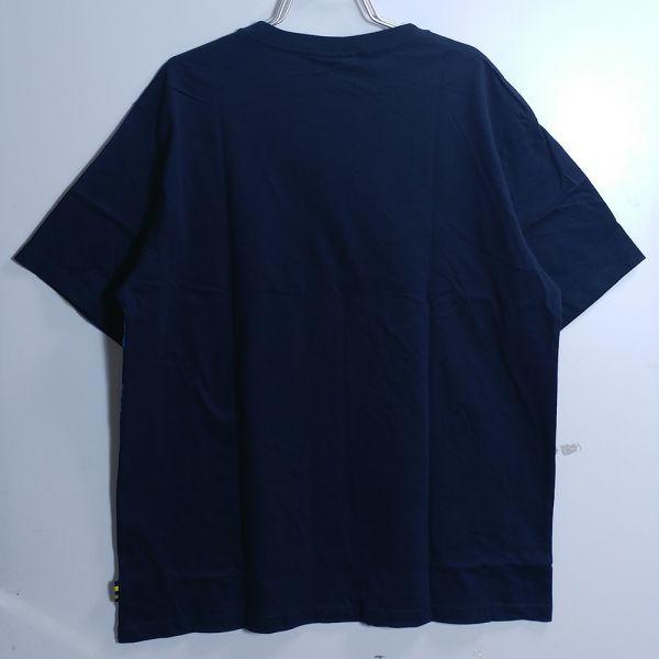 新品 ゲゲゲの鬼太郎 4L XXXL サイズ Tシャツ 和柄 キャラ グッズ ネイビー 8300_画像4