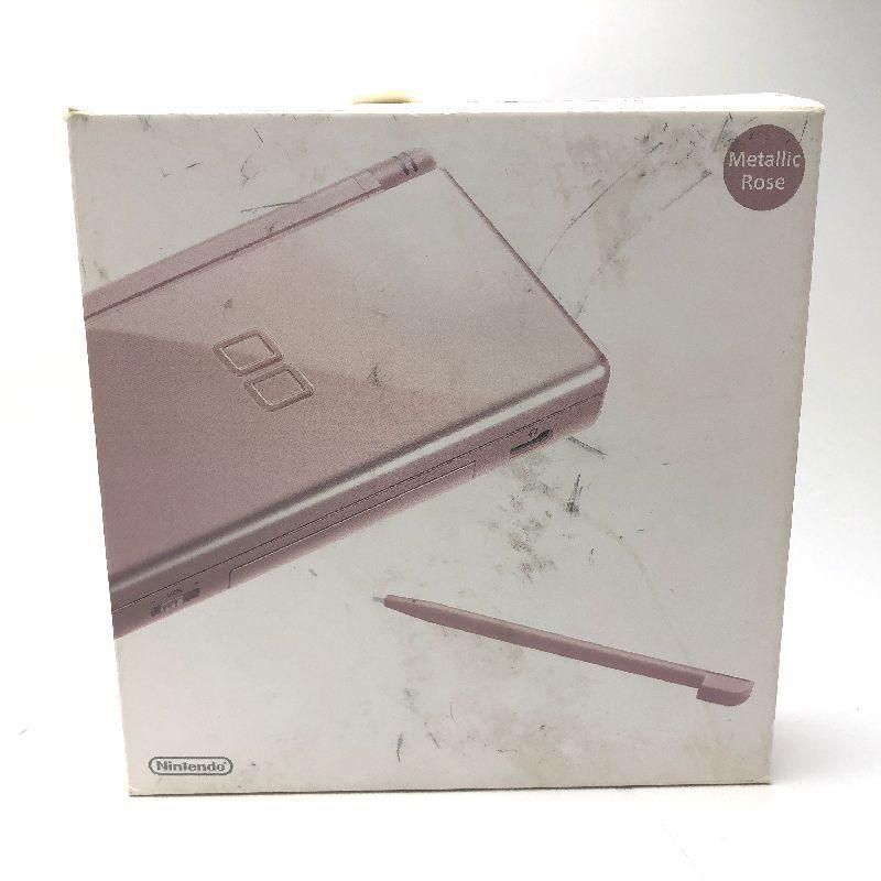 ニンテンドーDS Lite メタリックローズ(ピンク)中古箱つき 動作品 本体美品_画像5