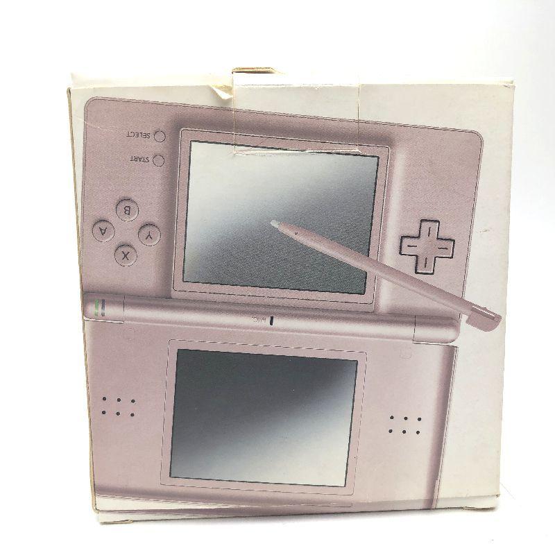 ニンテンドーDS Lite メタリックローズ(ピンク)中古箱つき 動作品 本体美品_画像6