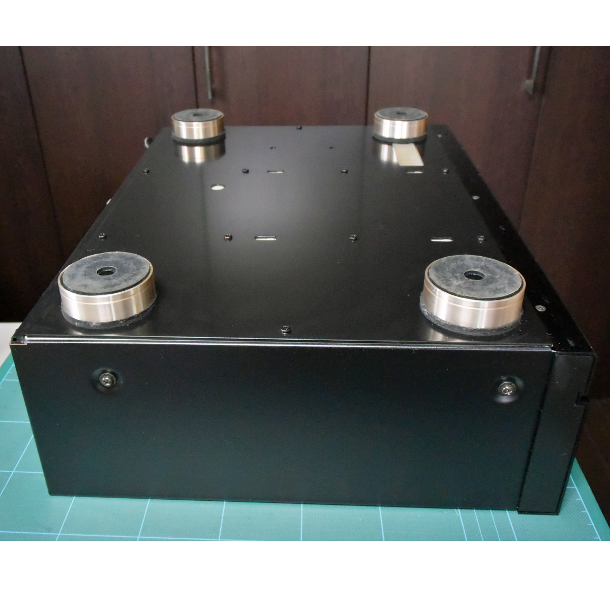 ALPINE/LUXMAN D-105u管球CDプレーヤー★ジャンク_画像4