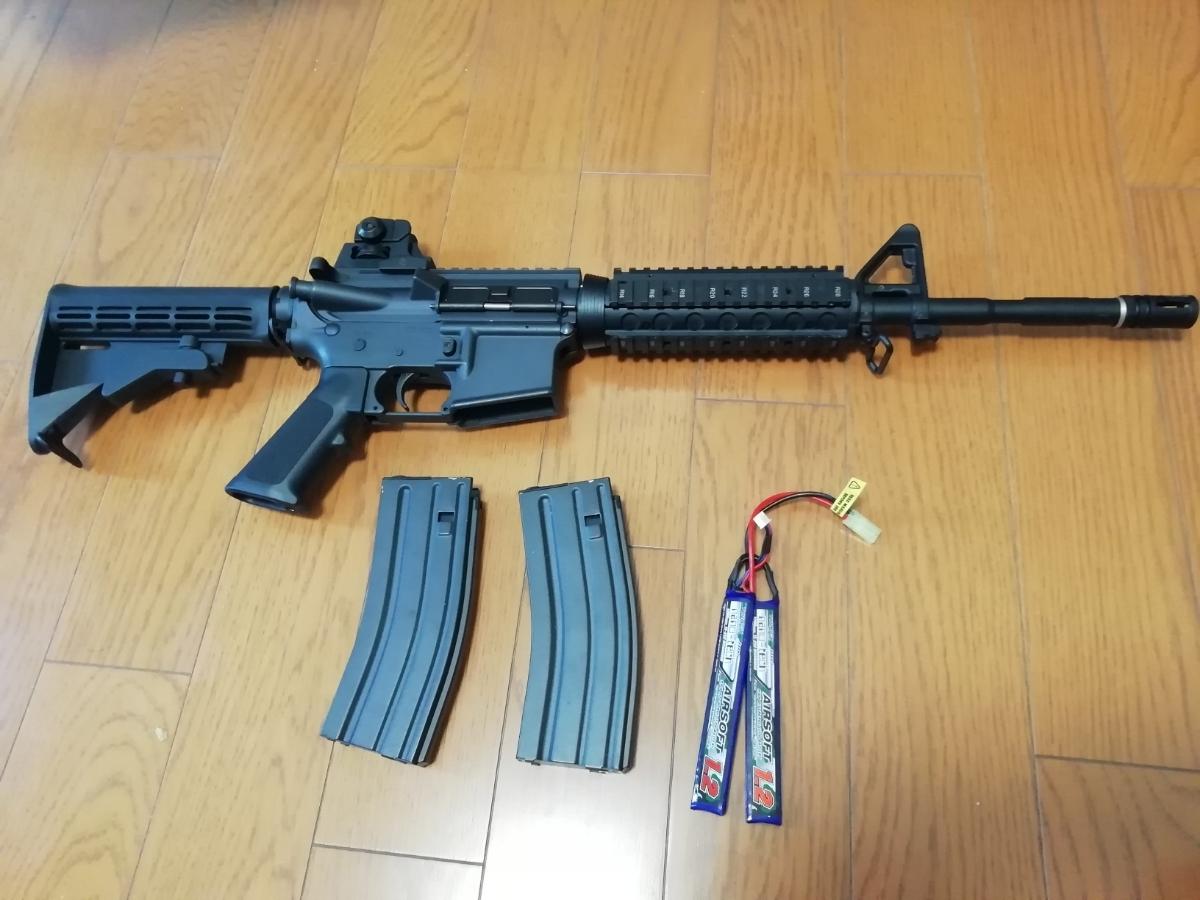 東京マルイ 次世代M4 BigOutDTM カスタム 中古現状_画像2