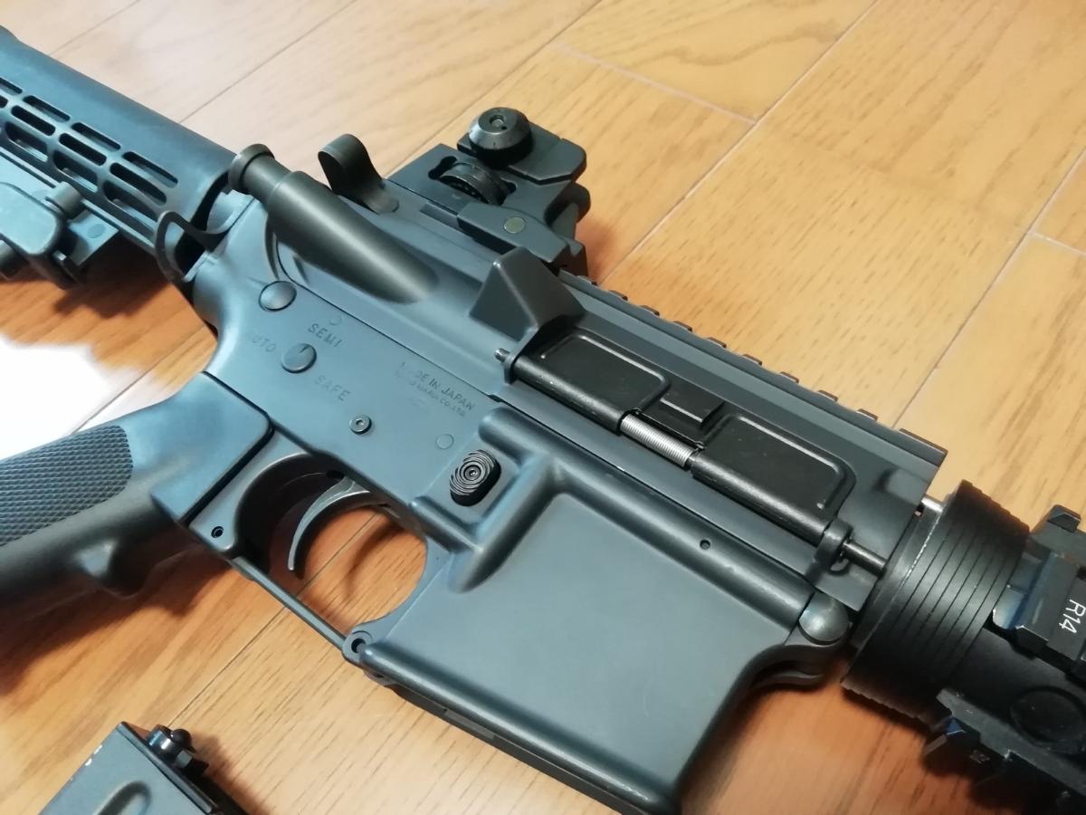 東京マルイ 次世代M4 BigOutDTM カスタム 中古現状_画像3