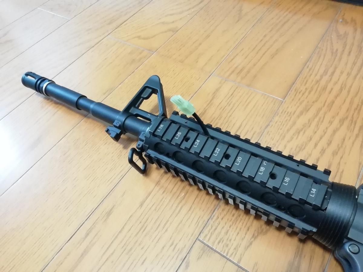 東京マルイ 次世代M4 BigOutDTM カスタム 中古現状_画像6