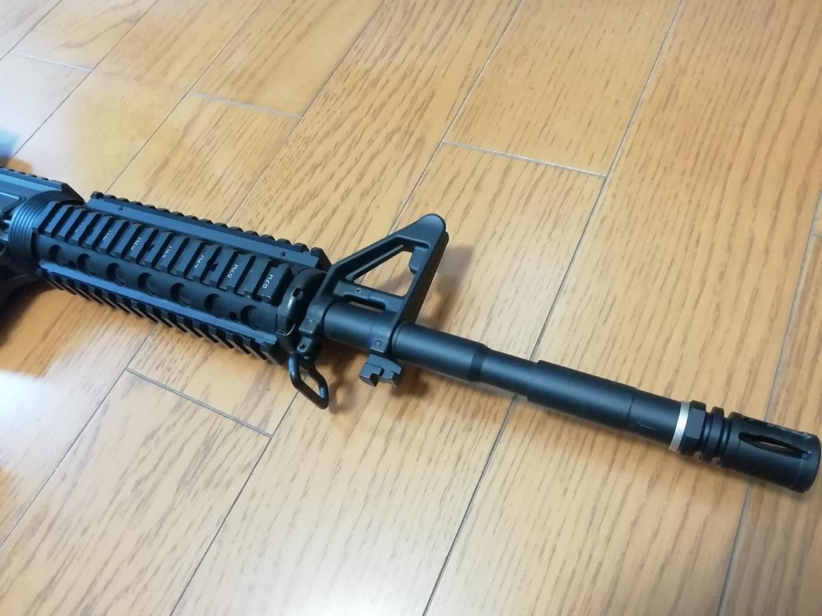 東京マルイ 次世代M4 BigOutDTM カスタム 中古現状_画像4
