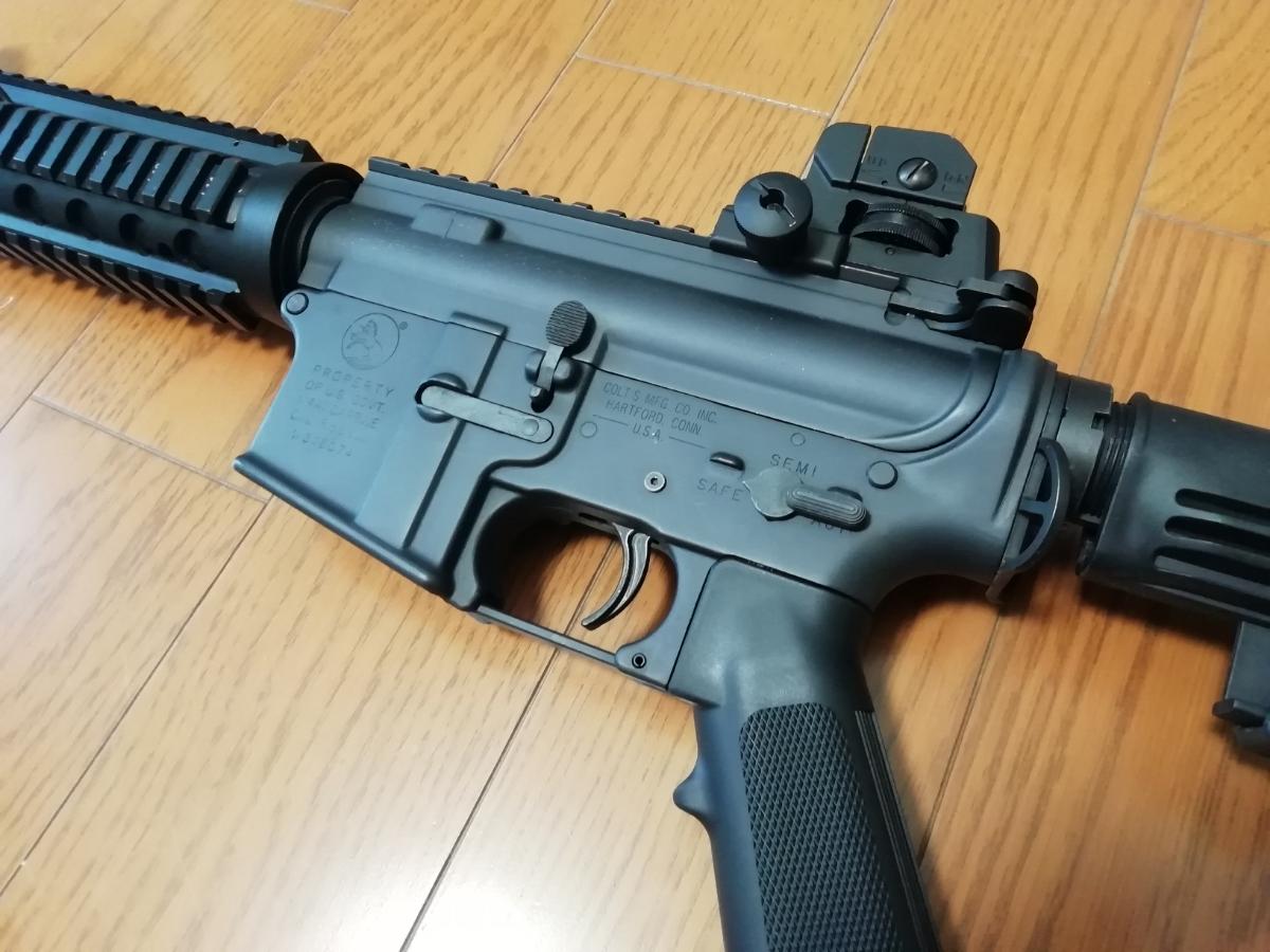 東京マルイ 次世代M4 BigOutDTM カスタム 中古現状_画像5