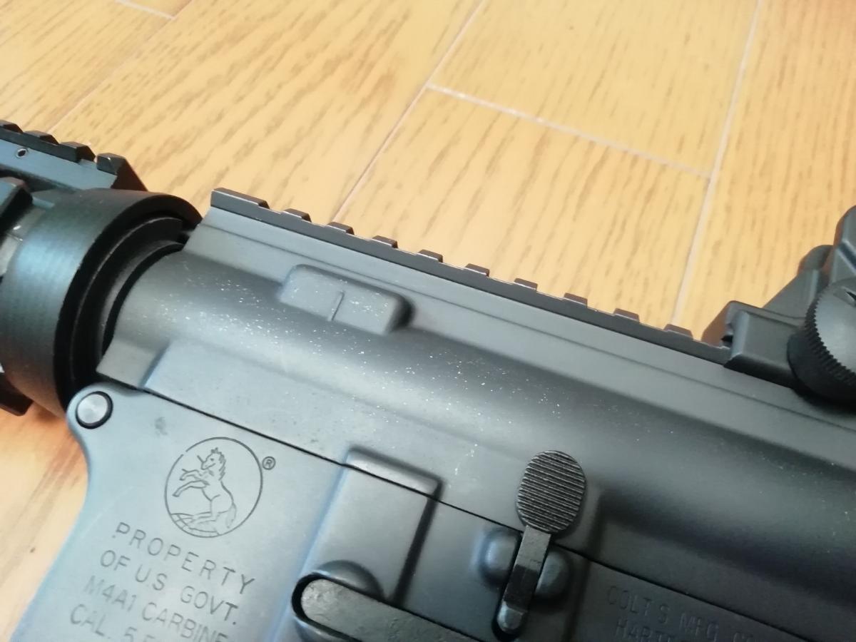 東京マルイ 次世代M4 BigOutDTM カスタム 中古現状_画像7