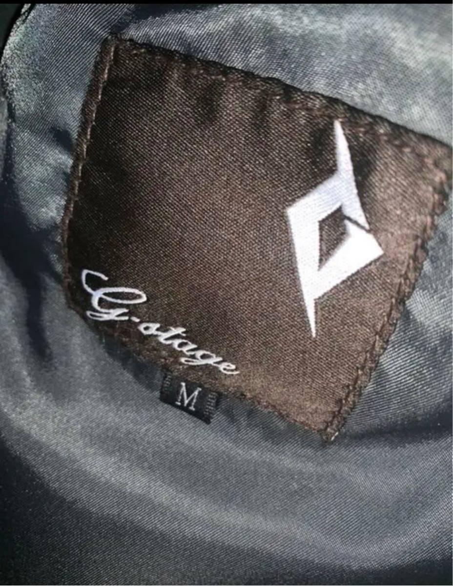 G-stageライダースジャケット 羊革 美品_画像2