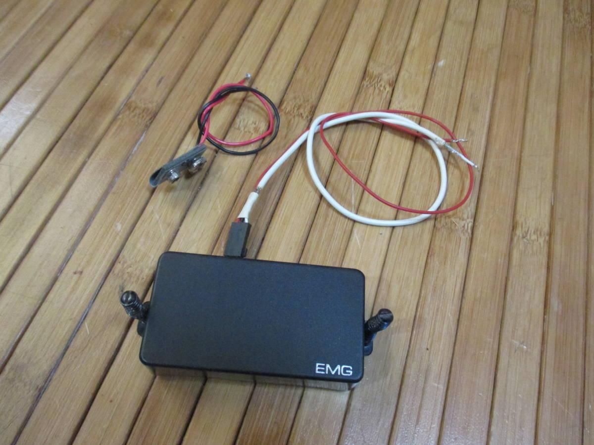 EMG 81 ピックアップ 配線30Cm 電池スナップ、ビス、スプリング付属 音だし確認済み