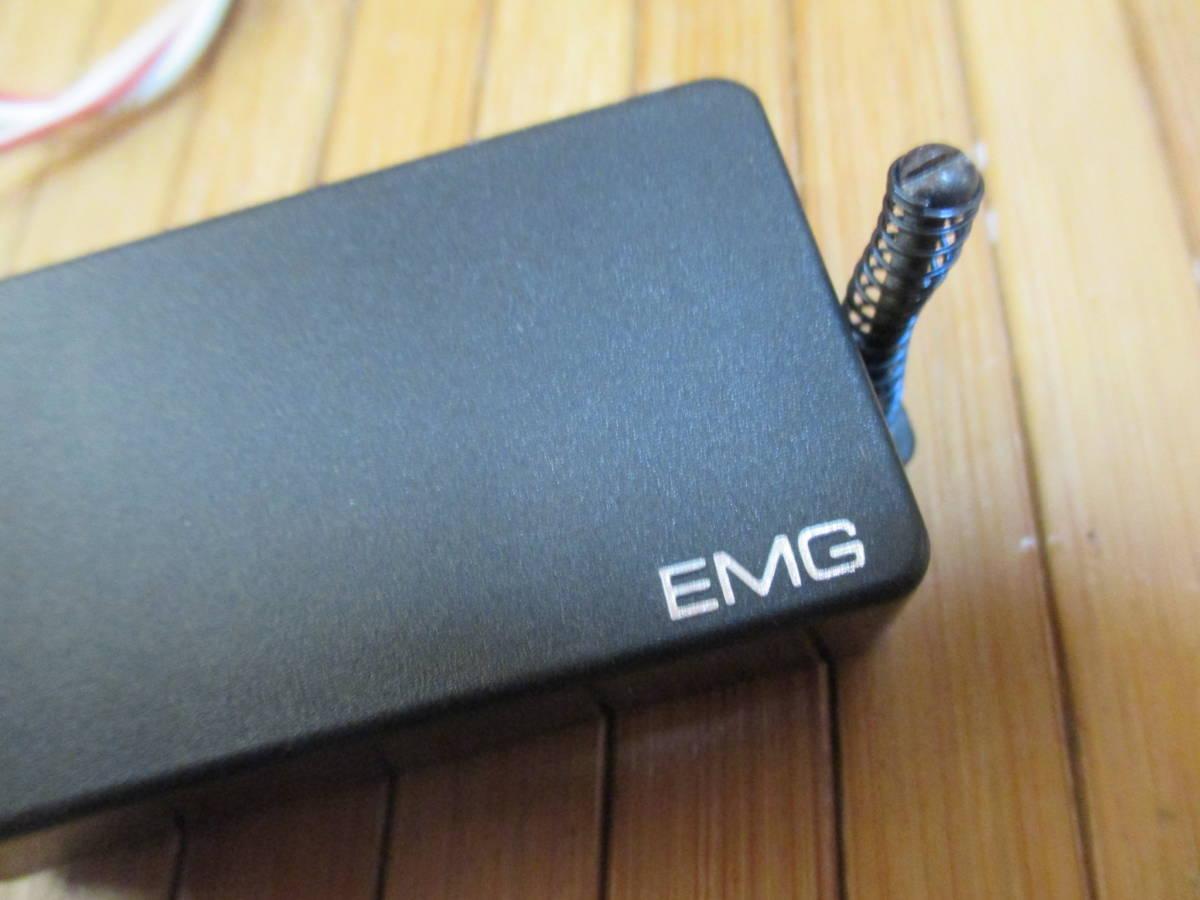 EMG 81 ピックアップ 配線30Cm 電池スナップ、ビス、スプリング付属 音だし確認済み _画像3