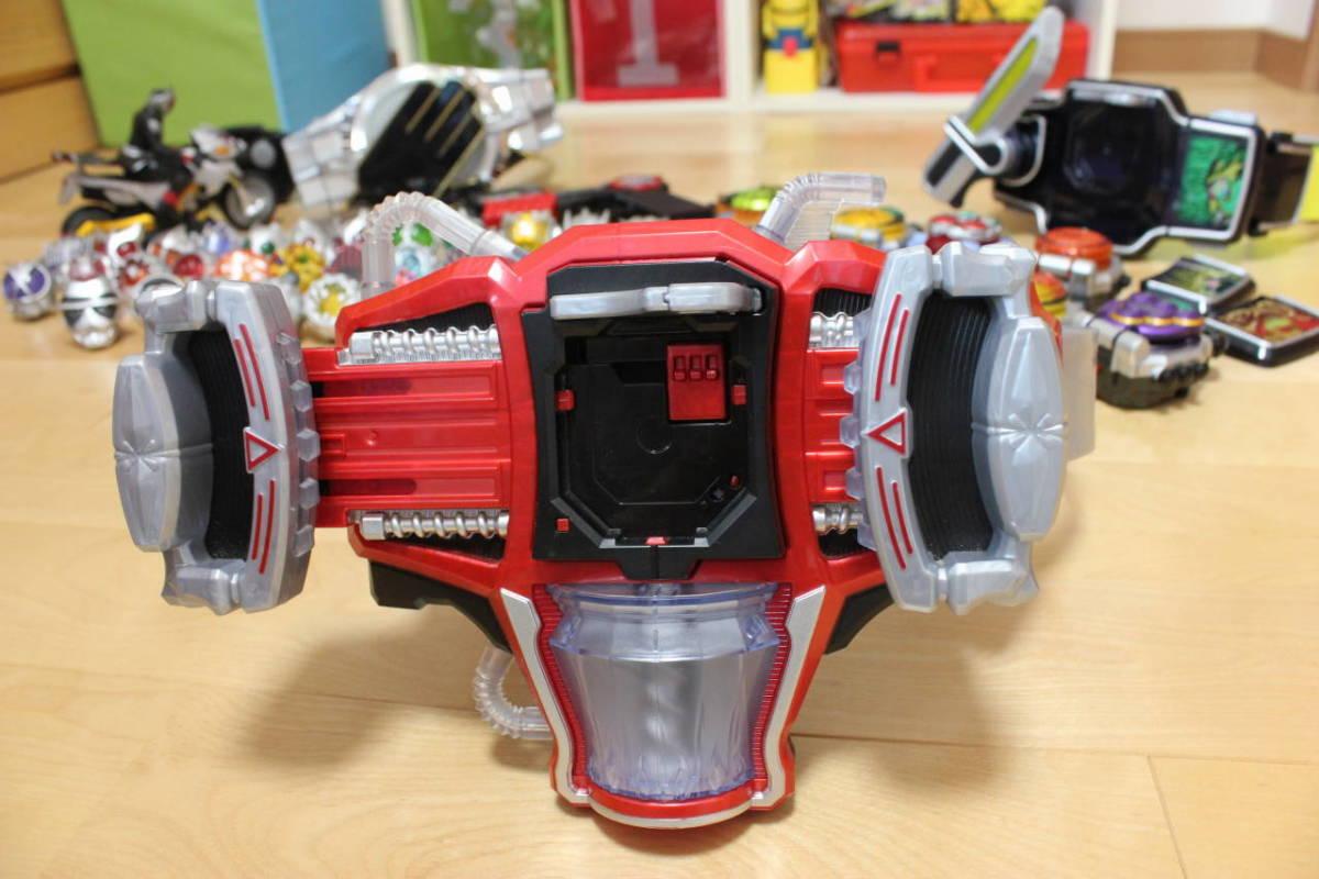 仮面ライダー ウィザード 鎧武 変身ベルト ラジコン リング ロックシード 大量セット_画像4