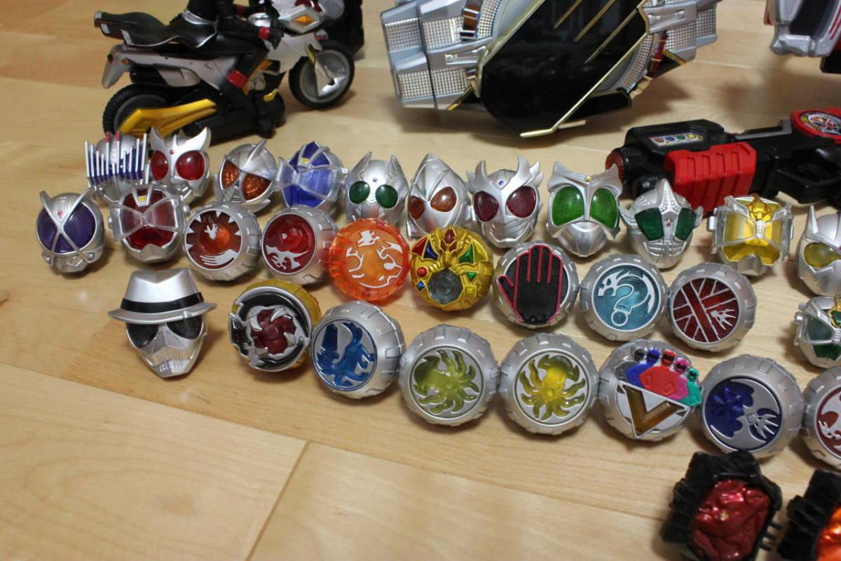 仮面ライダー ウィザード 鎧武 変身ベルト ラジコン リング ロックシード 大量セット_画像6