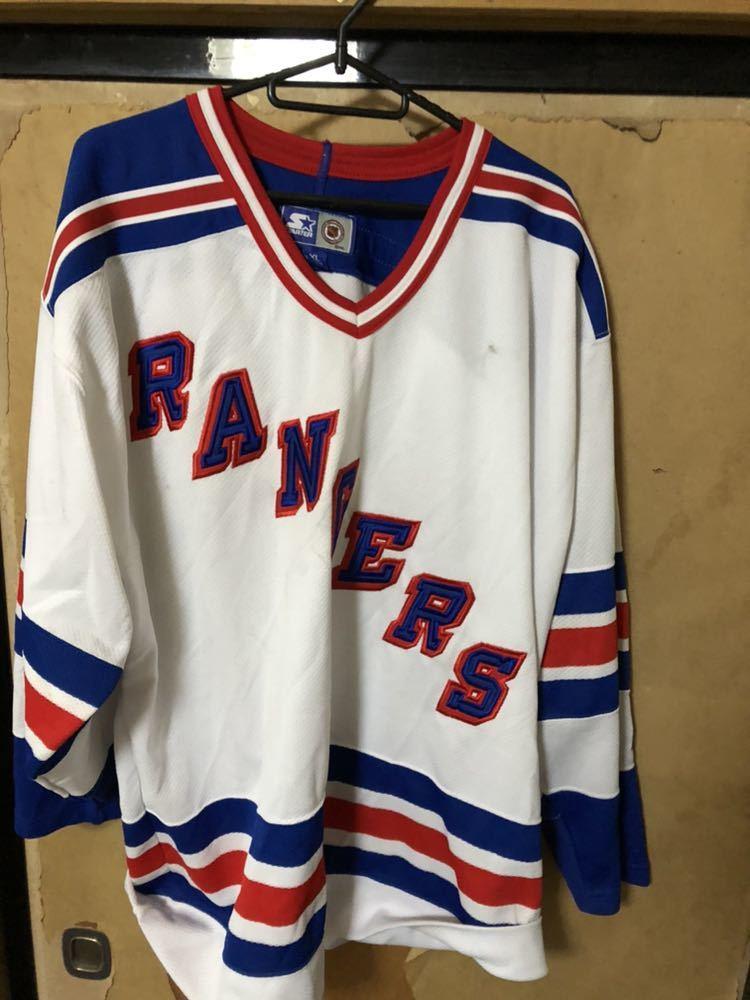 NHL ニューヨークレンジャース ジャージXL ワケあり送料込み!