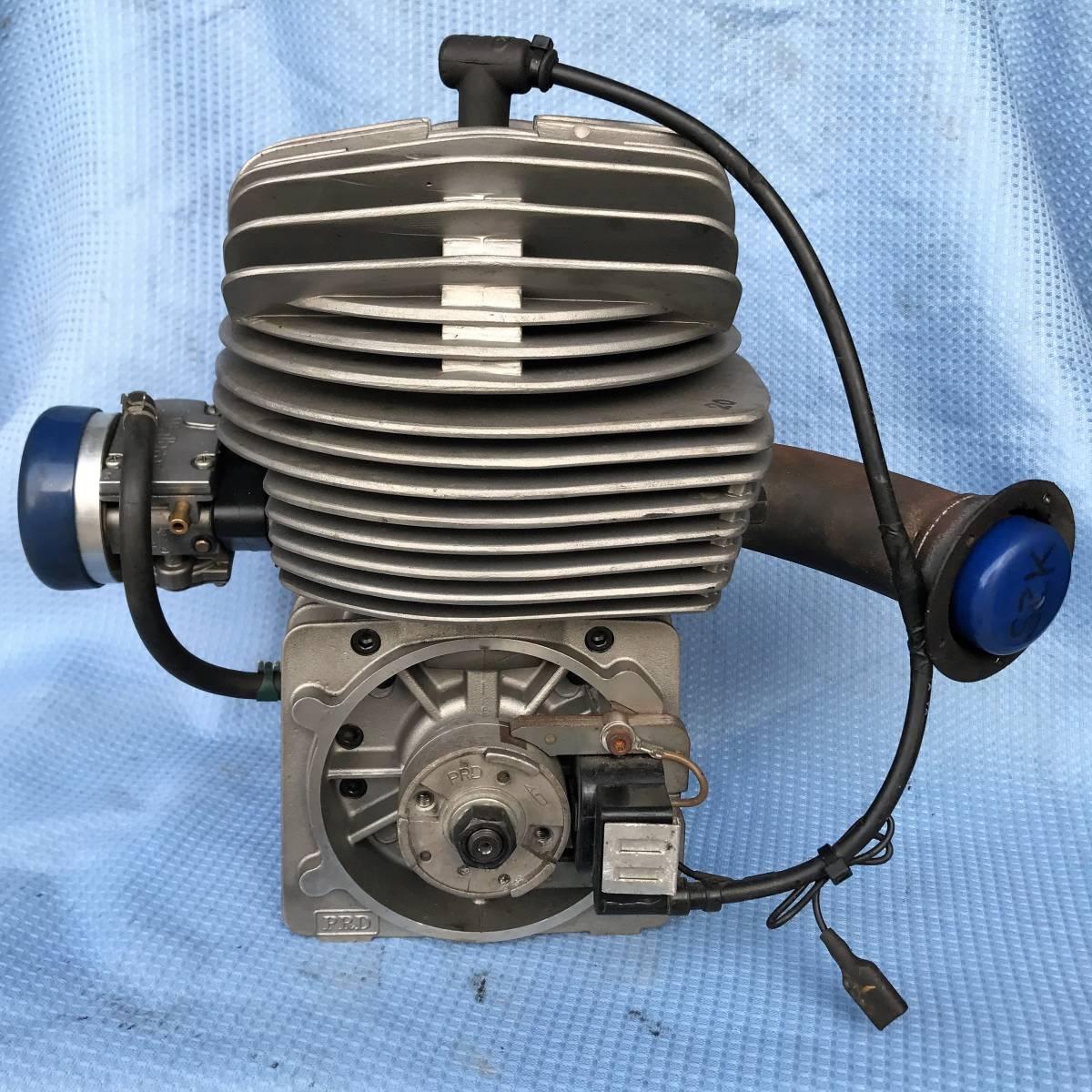 即決 PRD RK100 始動確認 エビデンスあり レーシングカート エンジン 周辺パーツもご用意できます_画像4
