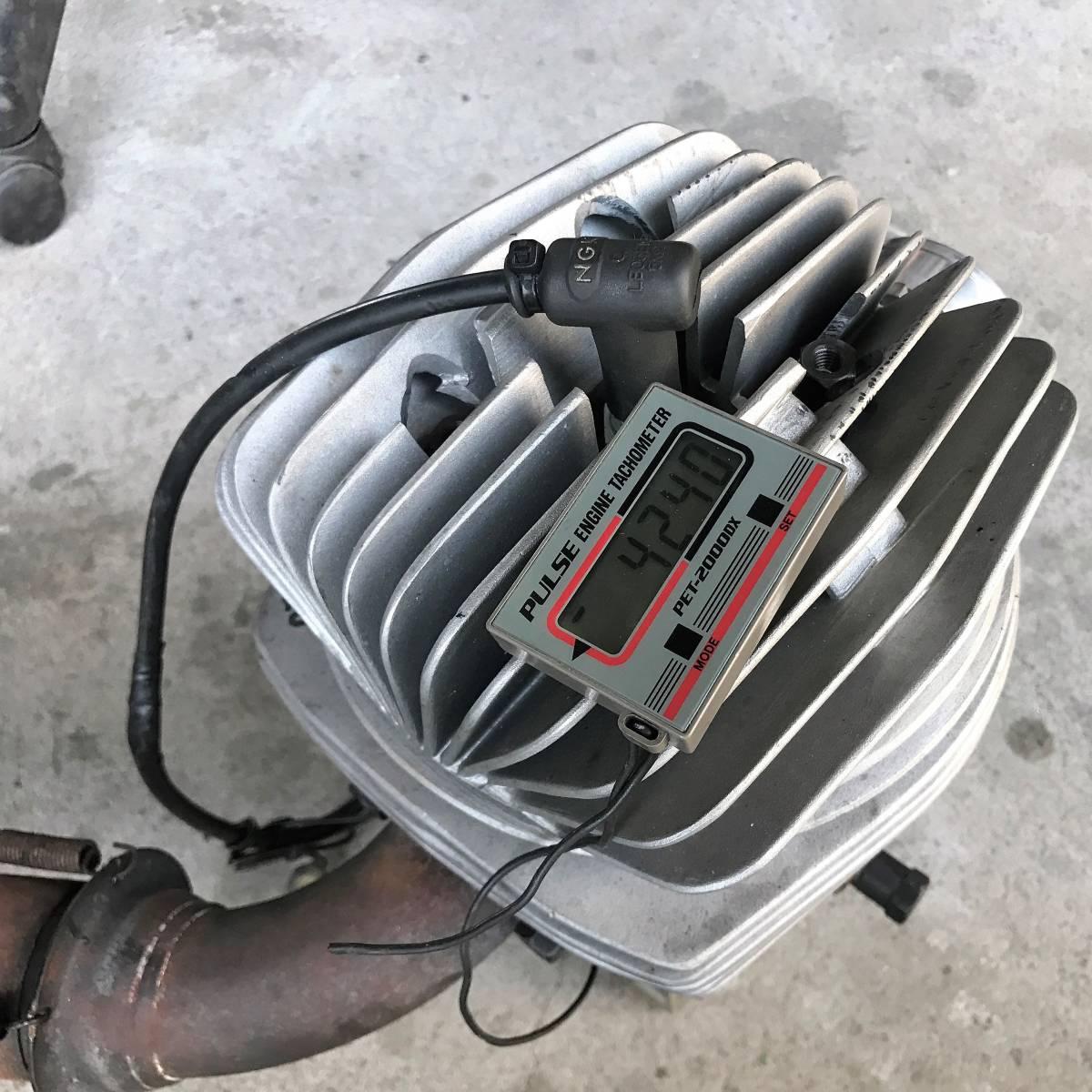 即決 PRD RK100 始動確認 エビデンスあり レーシングカート エンジン 周辺パーツもご用意できます_画像2