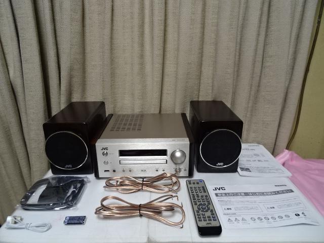 JVC EX-HR9 「フルレンジウッドコーン」スピーカーを搭載したコンポ 展示品 1年保証 _画像2