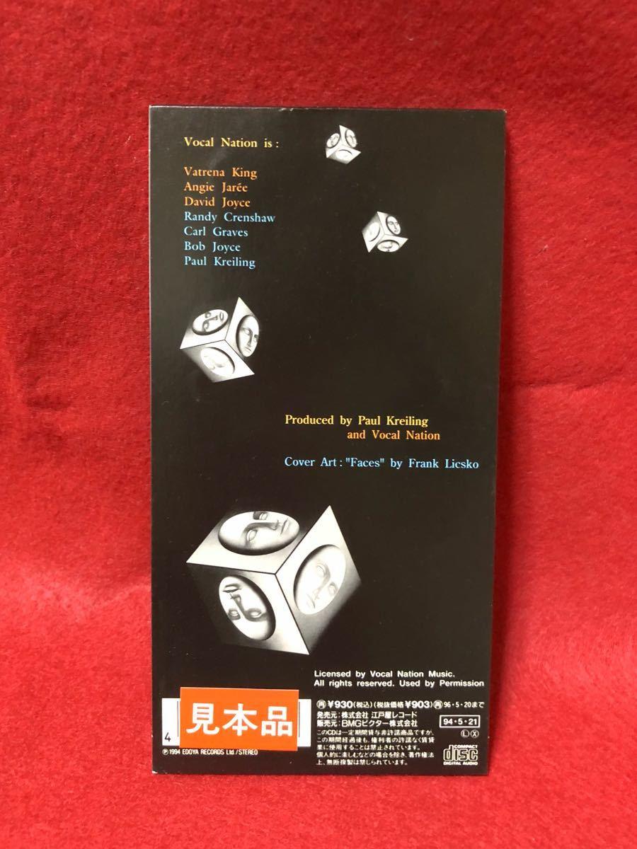 CD 蔵出し-849【邦楽】ヴォーカル・ネイション/オール・アラウンド・ミー 8cmシングル盤 cc105_画像2