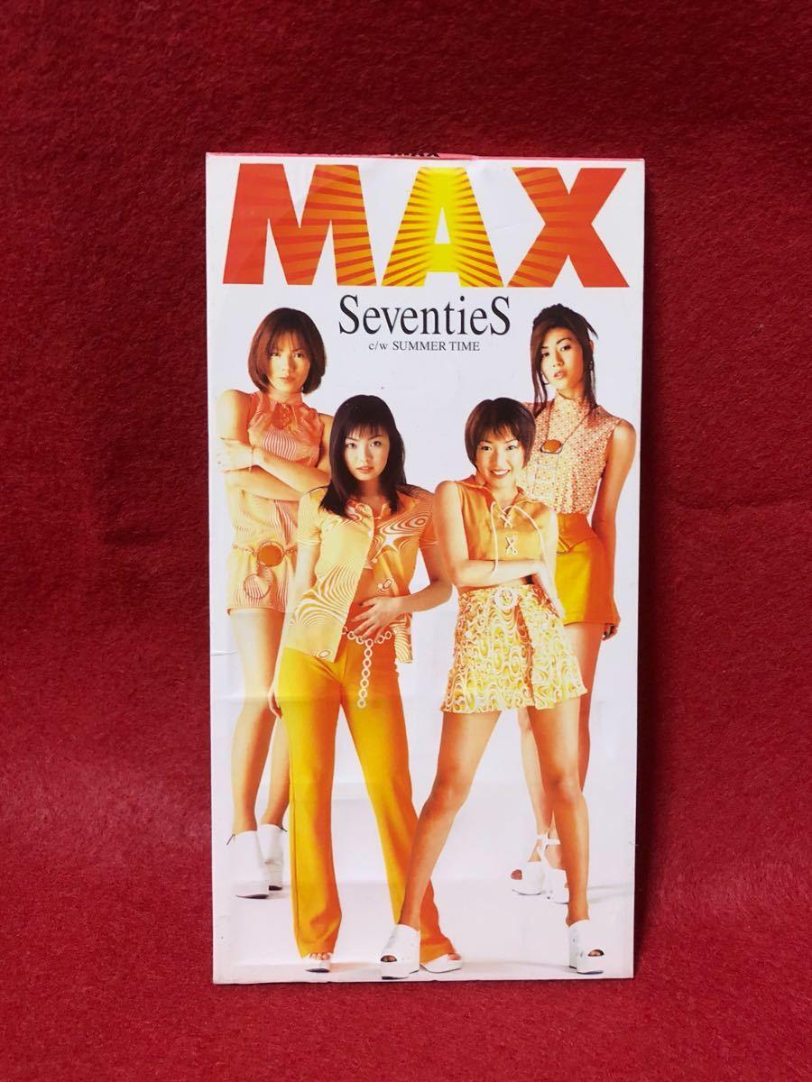 CD 蔵出し-851【邦楽 】MAX/SeventiS 8cmシングル盤 cc105_画像1