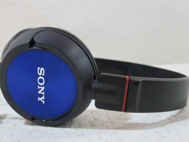◆◆SONY MDR-ZX300 ブルー ヘッドホン オーバーヘッド ダイナミック型 ソニー 動作品 01968◆◆!!_画像2