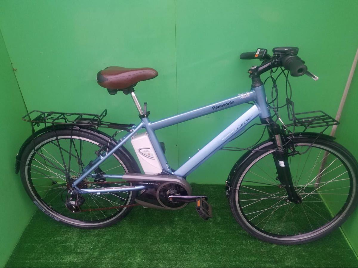 MTB パナソニック電動自転車 26インチ ライトブルー