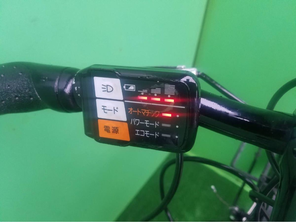 MTB パナソニック電動自転車 26インチ ライトブルー_画像2