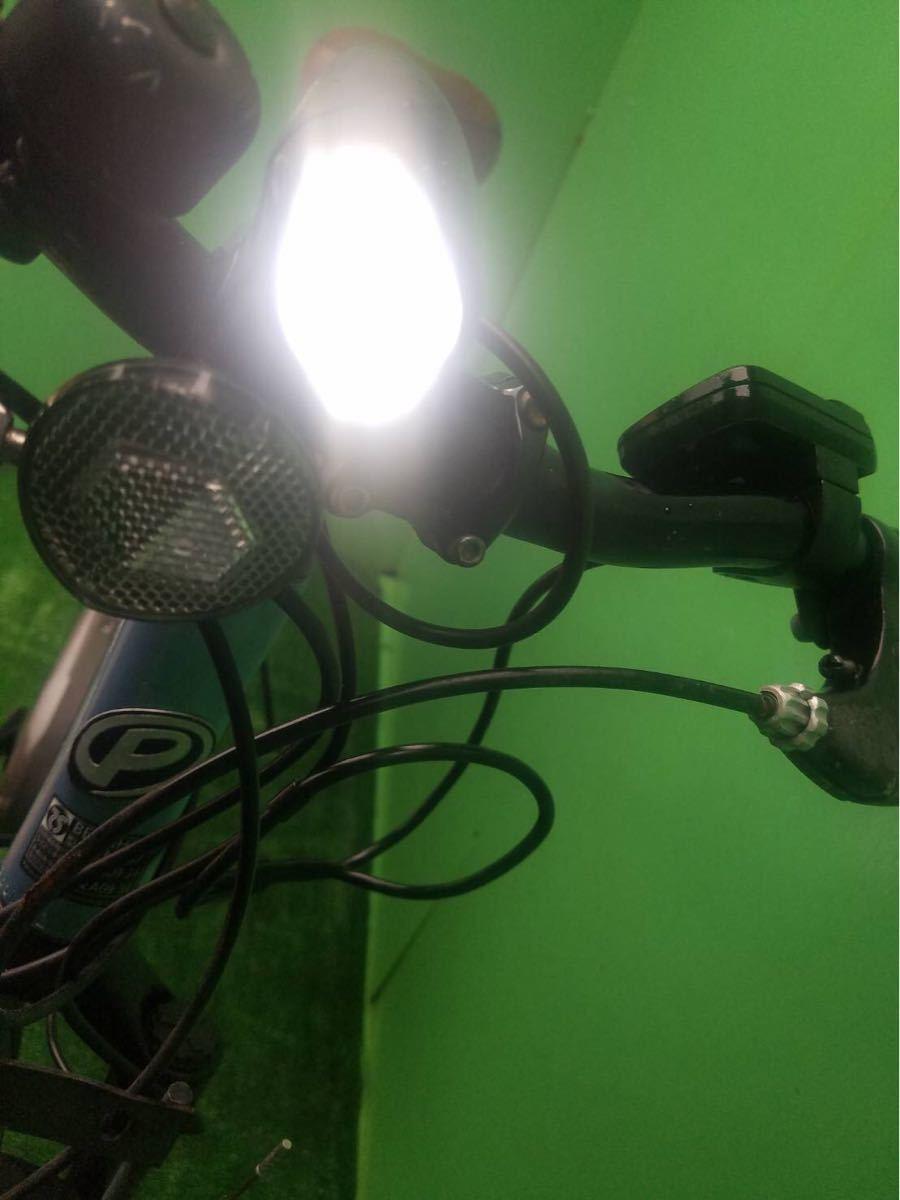 MTB パナソニック電動自転車 26インチ ライトブルー_画像4