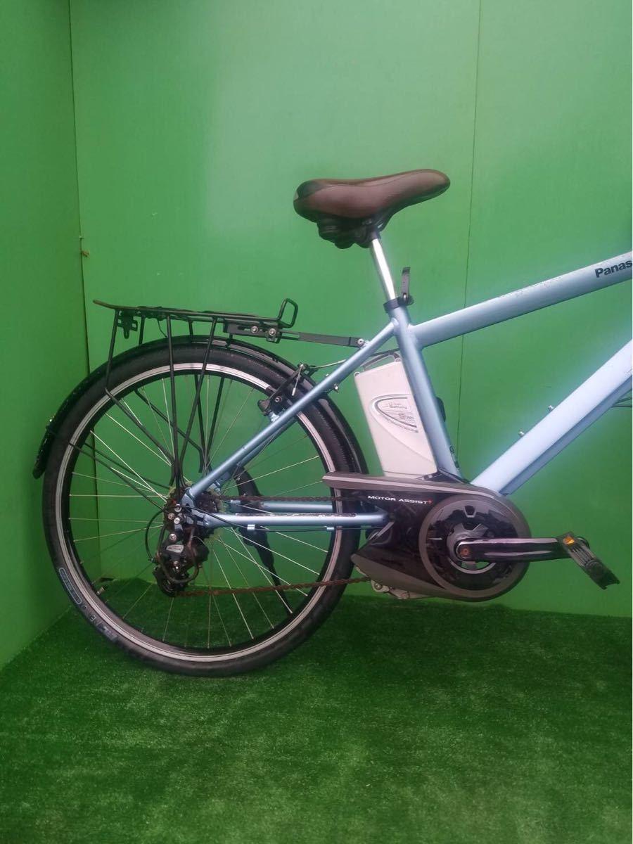 MTB パナソニック電動自転車 26インチ ライトブルー_画像6