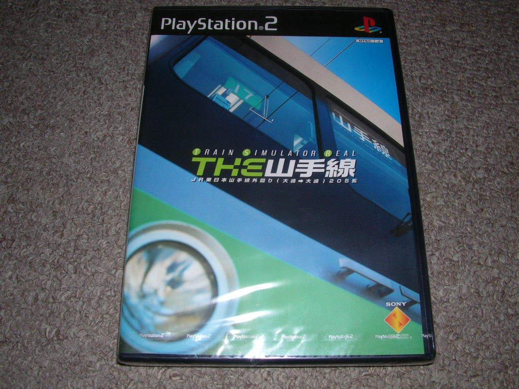 PS2★トレインシミュレーターリアル THE山手線★新品未開封_画像1