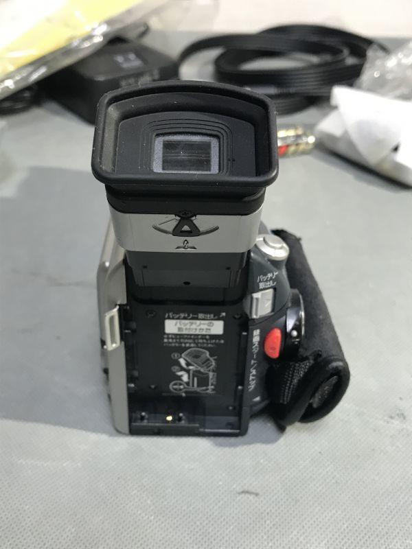 4#D2/2775 SHARP シャープ 液晶デジタルビデオ VL-MS1 ジャンク 未確認 現状品 80サイズ_画像5