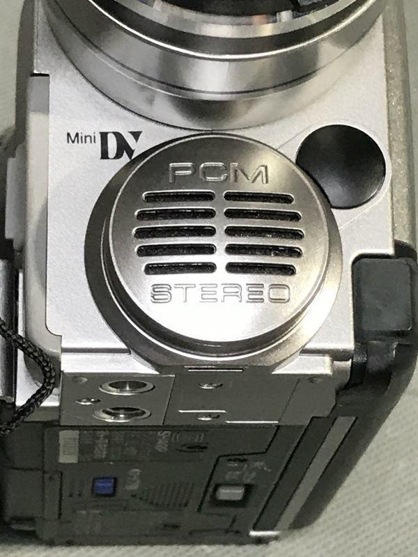 4#D2/2775 SHARP シャープ 液晶デジタルビデオ VL-MS1 ジャンク 未確認 現状品 80サイズ_画像8