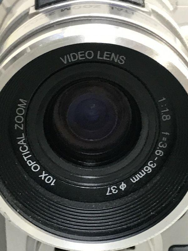 4#D2/2775 SHARP シャープ 液晶デジタルビデオ VL-MS1 ジャンク 未確認 現状品 80サイズ_画像7