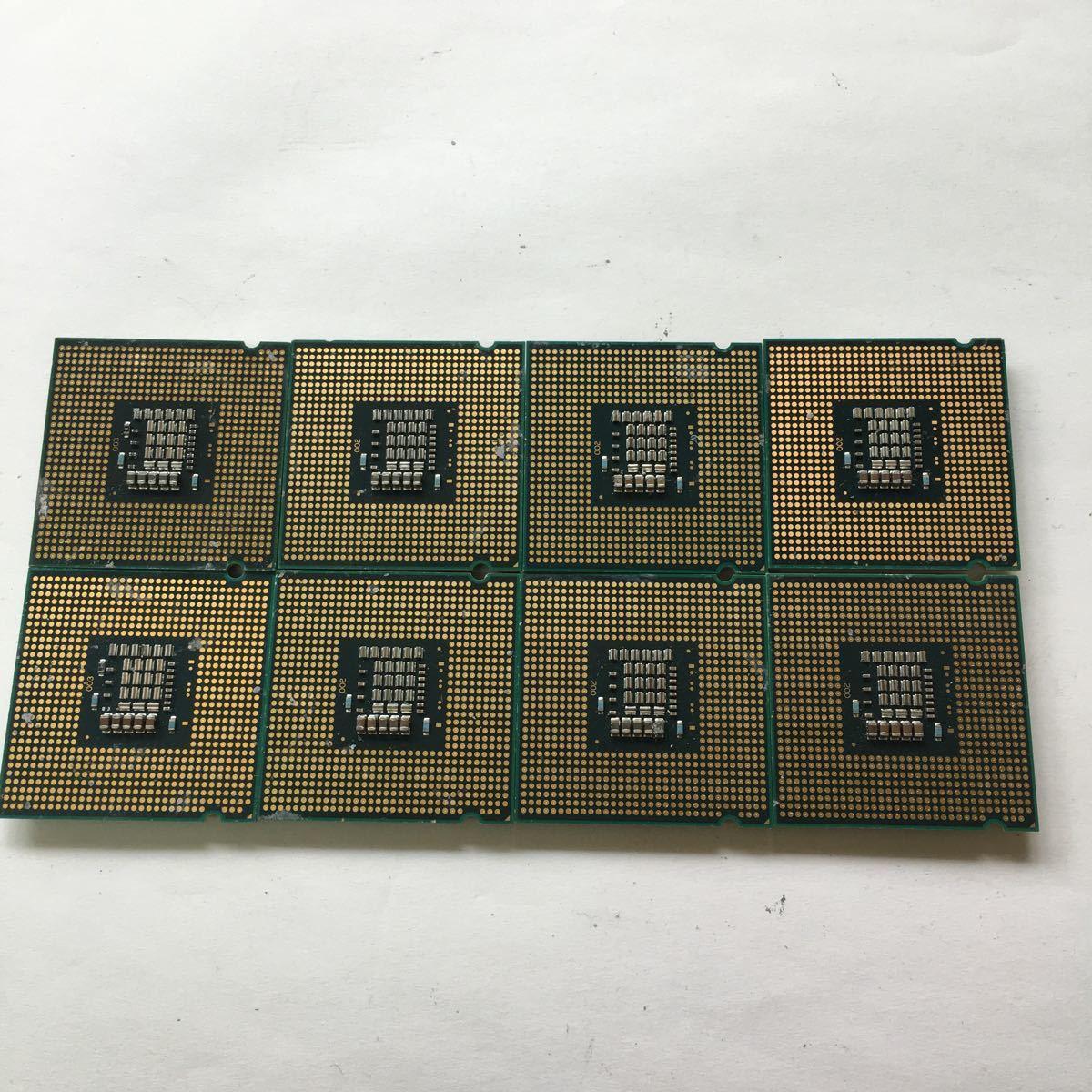 ●Intel CPU E8500 Core 2 Duo 3.16GHz SLB9K ●中古品8個セット_画像3