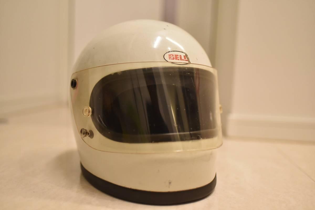 当時物☆BELLSTARⅡ 1975年物 オリジナル塗装(族ヘルメットカフェレーサーZ1Z2ビンテージ