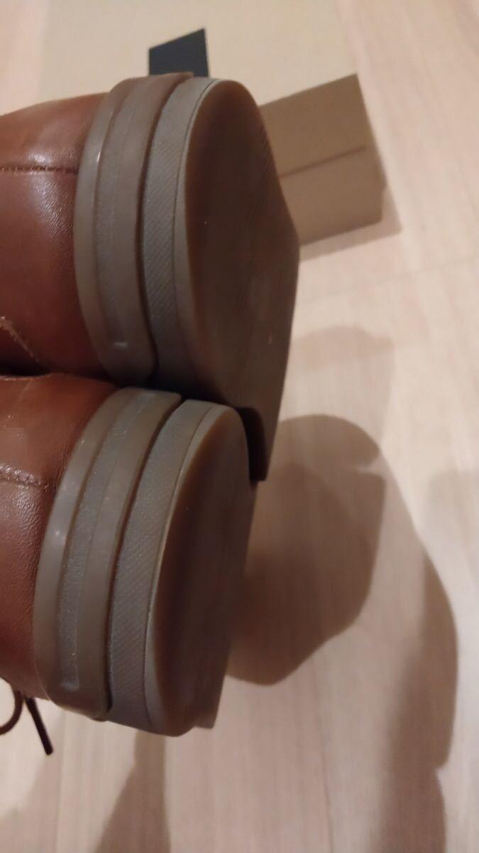 【送料無料】革 スニーカー クラークス スタンウェイ Clarks 箱付 定価1.3万円_画像6