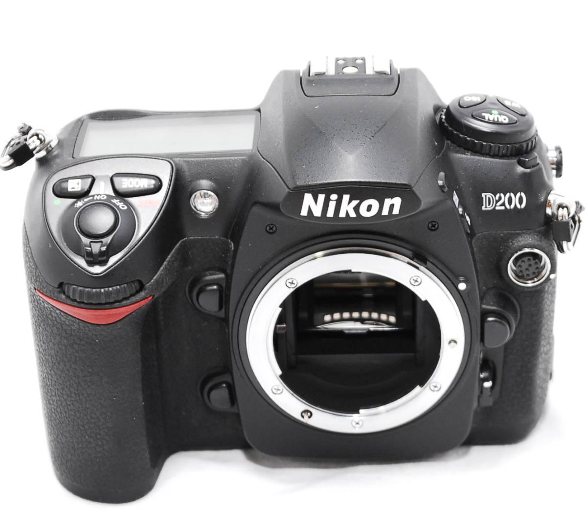 【動作未確認】Nikon ニコン D200 ジャンク_画像2