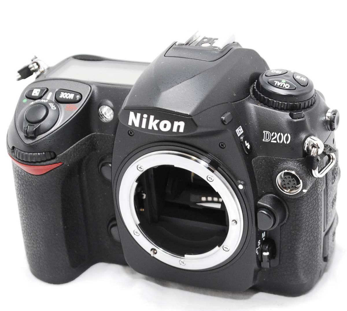 【動作未確認】Nikon ニコン D200 ジャンク