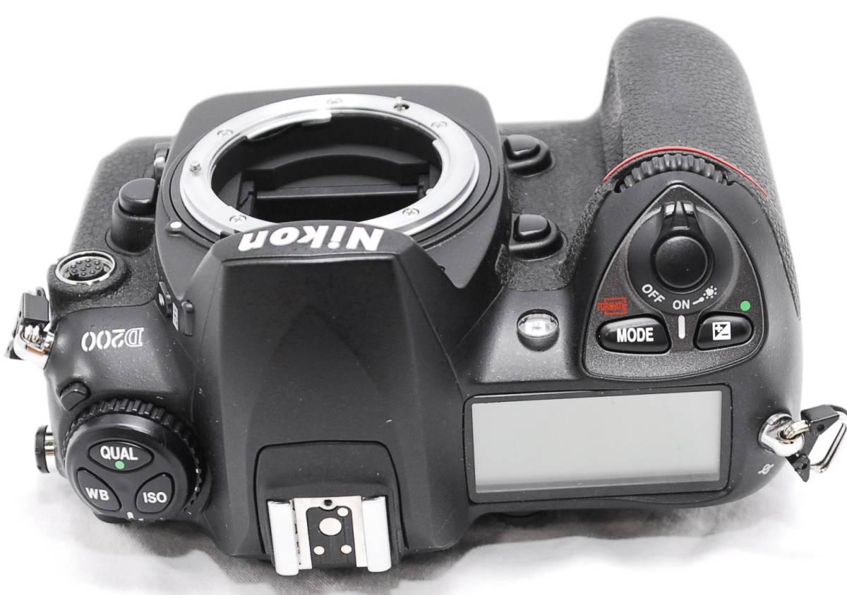 【動作未確認】Nikon ニコン D200 ジャンク_画像8
