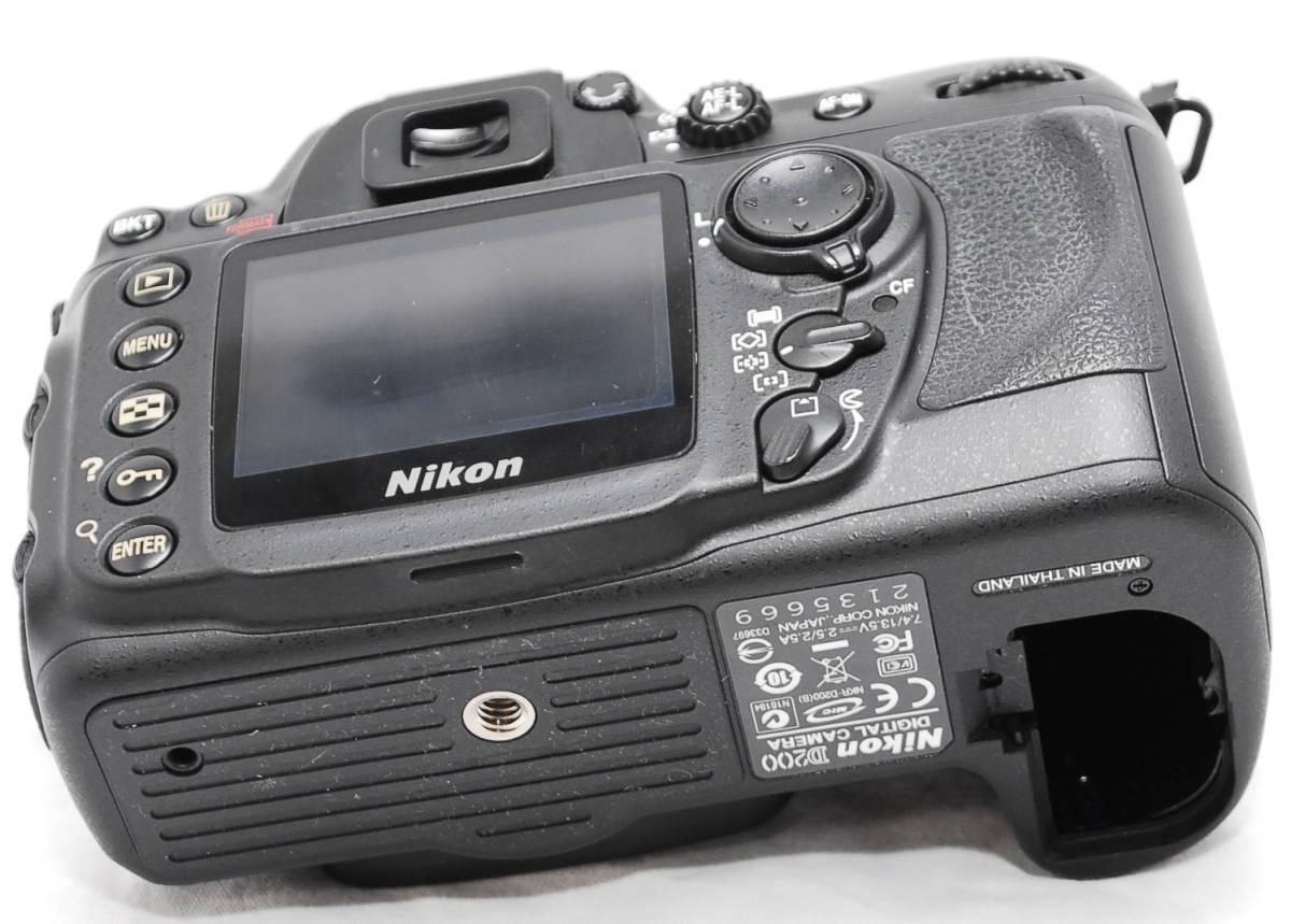 【動作未確認】Nikon ニコン D200 ジャンク_画像9