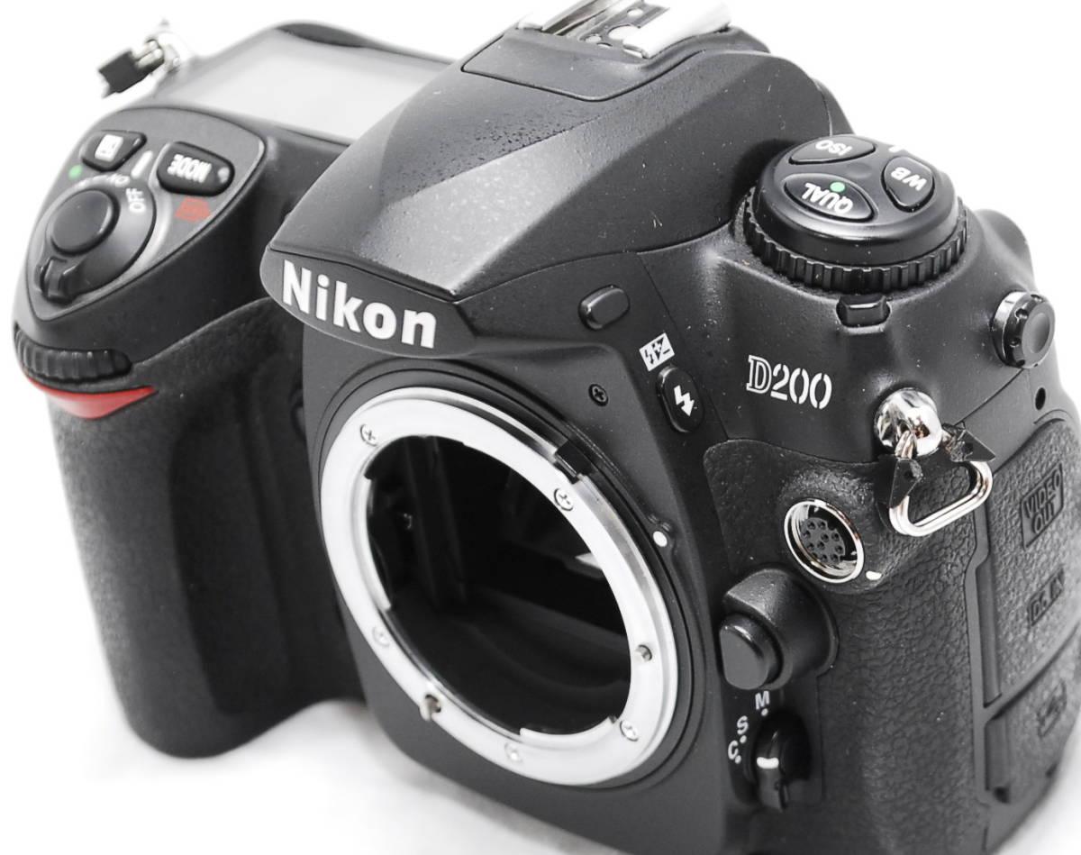 【動作未確認】Nikon ニコン D200 ジャンク_画像4