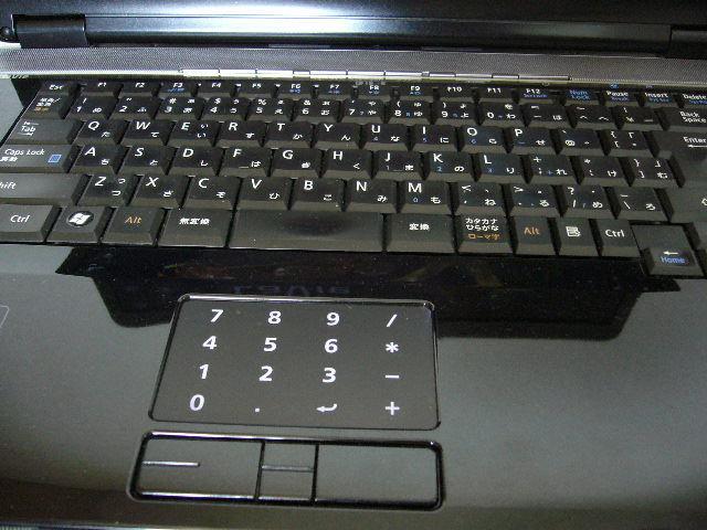 NEC LL750/V Core 2 Duo P8700 2.53GHz 4.0GB 320GB 16インチ液晶 ブルーレイドライブ Win10 Home ACアダプタ _画像3