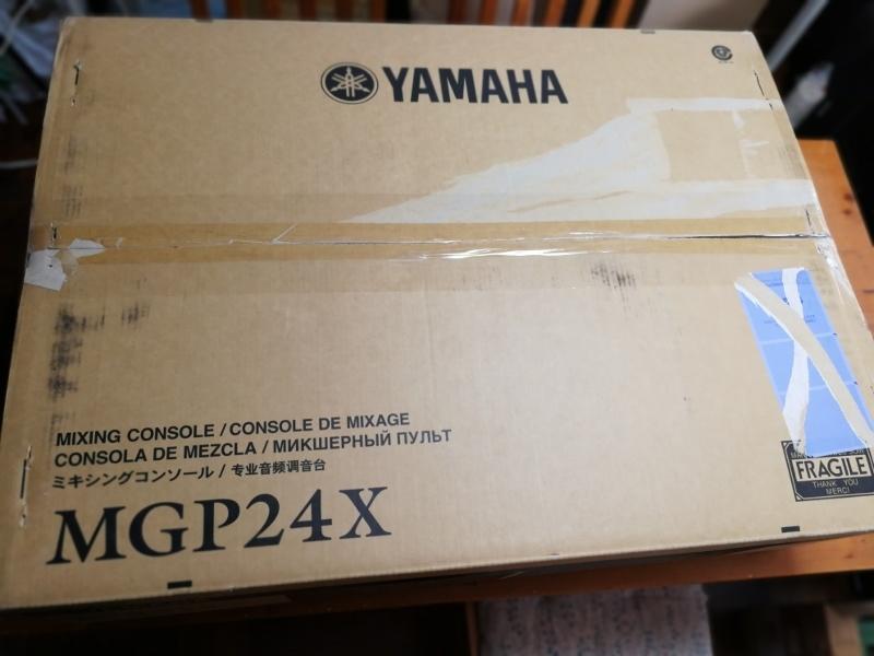 ヤマハ24ch アナログミキサー MG24/14FX 中古_画像4